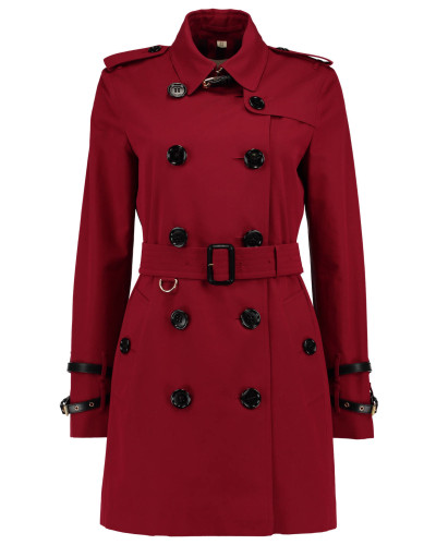 burberry damen burberry london damen trenchcoat rot reduziert. Black Bedroom Furniture Sets. Home Design Ideas