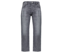 "Jeans ""Emery High Rise Relaxed Crop"" Straight Fit verkürzt"
