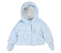 Mädchen und Jungen Jacke aus Teddyplüsch verfügbar in Größe 74