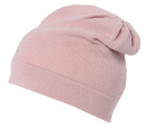 Damen Beanie-Mütze, rose