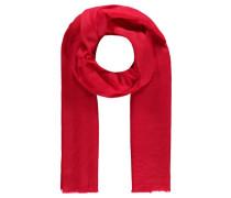 Damen Kaschmir-Schal, rot