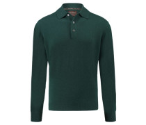 Herren Kaschmir-Pullover, Grün