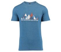 """Herren Bergsport T-Shirt """"Skiros"""", indigo"""