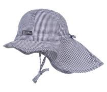 Mädchen Schirmmütze mit Nackenschutz Gr. 49