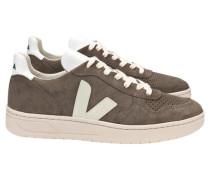 "Herren Sneakers ""V-10"", stein"