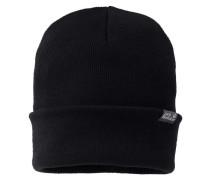 Mütze / Strickmütze Rib Hat, Schwarz