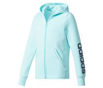 Girls Sweatjacke Essentials Linear Full Zip Hoodie, Blau