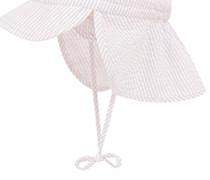 Jungen und Mädchen Baby Bindemütze mit Nackenschutz