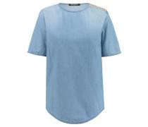 Damen T-Shirt, denim