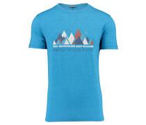 "Herren Bergsport T-Shirt ""Skiros"", aqua"