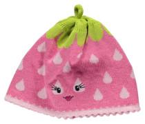 Mädchen Mütze Erdbeere Gr. 49