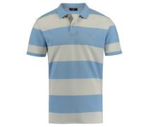 Herren Poloshirt Kurzarm, Blau