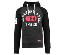 "Herren Sweatshirt ""Trackster Baseball Hood"", schwarz"