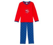 Jungen Schlafanzug, Rot