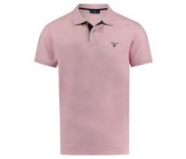 Herren Poloshirt Regular Fit Kurzarm, rose