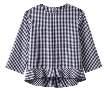Damen Bluse 3/4-Arm, dunkelblau