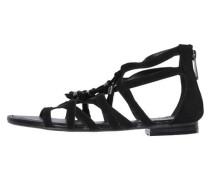 Damen Sandalen, schwarz