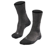 Herren Trekkingsocken TK1 Wolle, nearly black