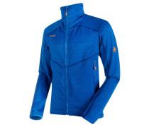 Herren Fleecejacke Eiswand Guide ML Jacket Men, Blau