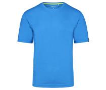 """Herren Bergsportshirt """"Wembley 13"""" Kurzarm, blau"""
