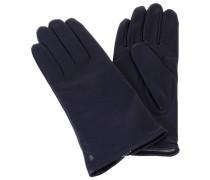 Damen Handschuhe aus Leder, Blau