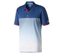 Herren Golfshirt / Poloshirt Climachill Gradient Stripe Polo, Blau