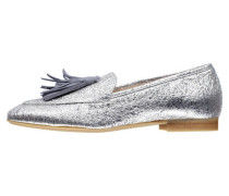 Damen Loafer, silber