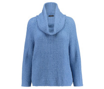 Damen Rollkragenpullover, blau
