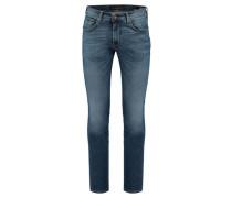 Herren Jeans John Slim Fit, Blau