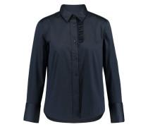 Damen Bluse Slate Langarm, Blau