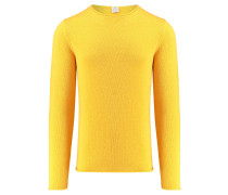 Herren Pullover, gelb