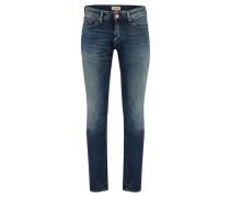 Herren Jeans Slim Scanton, Blau
