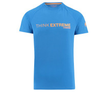 "Herren T-Shirt ""Think Extreme"", blau"
