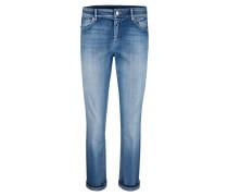 Damen Jeans Comfort Straight, blue