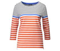 Damen Shirt Dreiviertelarm, Rot