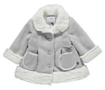 Mädchen Baby Mantel, Grau