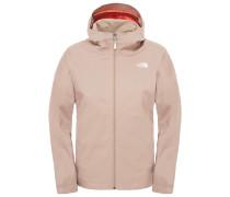 The North Face: Damen Wanderjacke / Trekkingjacke W Quest Jacket, beige