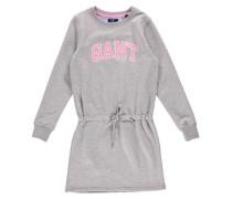 Mädchen Sweatkleid Quilted Dress, Grau