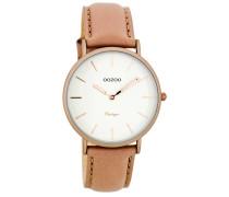 OOZOO: Damen Uhr Ultra Slim Vintage C7747, rose