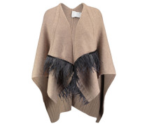 Damen Cape, Beige