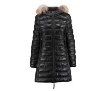 Damen Ledermantel Demi Leather