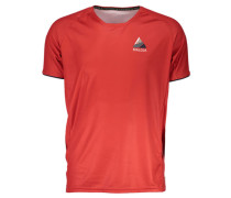 Herren Radshirt / Funktionsshirt TaubenseeM. Multi 1/2, Rot