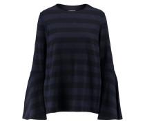 Damen Shirt Seventy Langarm, Blau