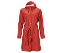 "Damen und Herren Regenjacke ""Curve Jacket"", rot"