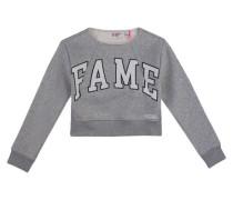 Mädchen Sweatshirt, Silber