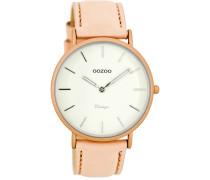 OOZOO: Damen Uhr Ultra Slim Vintage C7737, rose