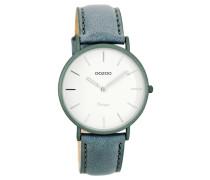 OOZOO: Damen Uhr Ultra Slim Vintage C7748, bleu