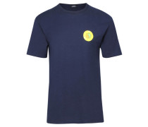 "Herren T-Shirt ""Hippie Circle"", marine"