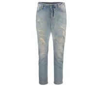 Damen Boyfriend-Jeans, marine