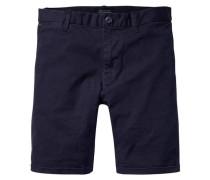 Herren Chino-Shorts Slim Fit, marine